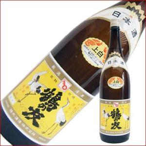 鶴の友 上白 1.8L 1800ml 日本酒|niigatameisyuoukoku