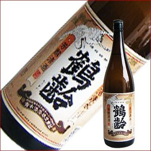 鶴齢 芳醇 1.8L 1800ml 日本酒|niigatameisyuoukoku