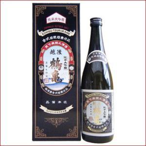 日本酒 新潟清酒ギフトセット 720ml×1本 越後鶴亀 純米大吟醸|niigatameisyuoukoku