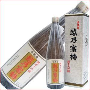 越乃寒梅 金無垢 純米大吟醸 720ml 日本酒|niigatameisyuoukoku
