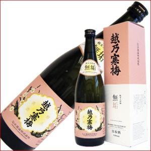 越乃寒梅 無垢 純米吟醸 720ml 日本酒|niigatameisyuoukoku