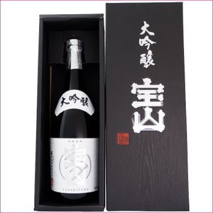 日本酒 新潟清酒ギフトセット 720ml×1本 宝山 大吟醸|niigatameisyuoukoku