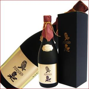 長期熟成 梟(ふくろう) 麦 40°720ml/研醸/本格焼酎/化粧箱付|niigatameisyuoukoku