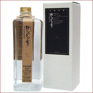 野うさぎの走り米600ml(化粧箱付)/本格焼酎  niigatameisyuoukoku