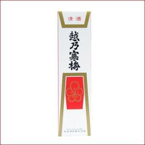 越乃寒梅 カートン 1800ml 1本用|niigatameisyuoukoku
