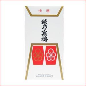 越乃寒梅 カートン 1800ml 2本用|niigatameisyuoukoku