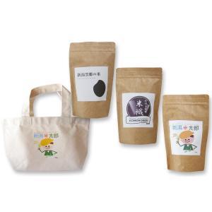 【お中元・贈り物に】新潟の米3種、バッグギ フトセット|niigatanokome