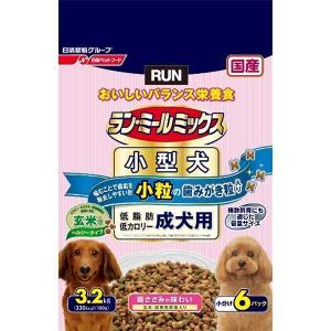日清ペットフード ランミールミックス小粒成犬ヘルシー3.2Kg 〔ペット用品〕|nijiiromarket