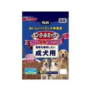 日清ペットフード ラン・ミールミックス 大粒 成犬用6.5Kg 〔ペット用品〕|nijiiromarket