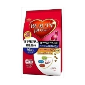 日本ペットフード ビーティープロ下部尿路健康維持成猫1.4Kg 〔ペット用品〕|nijiiromarket