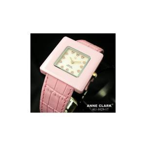ANNE CLARK(アンクラーク) レディース ベルトウォッチ AU1029-17/ピンク|nijiiromarket