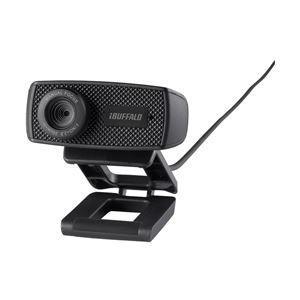 バッファロー(サプライ) マイク内蔵120万画素Webカメラ HD720p対応モデル ブラック BSWHD06MBK|nijiiromarket