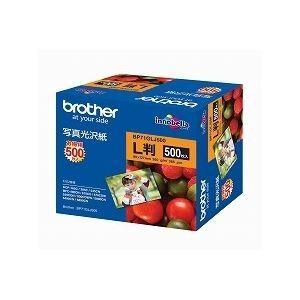 ブラザー工業(BROTHER) 写真光沢紙 L判 500枚 BP71GLJ500|nijiiromarket