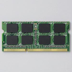 ELECOM(エレコム) RoHS対応 DDR3L-1600(PC3L-12800) 204pinS.O.DIMMメモリモジュール/2GB EV1600L-N2G/RO|nijiiromarket