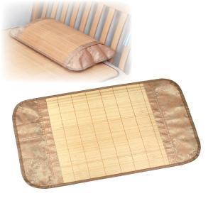 涼感爽やか竹枕カバー 〔適応枕サイズ/43cm×63cm以内〕|nijiiromarket