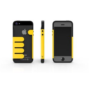 HandHold ブラック/イエロー FB102-BKYL iPhone5用ケース|nijiiromarket