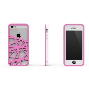 CrossWay ホワイト/ピンク FB103-WHPK iPhone5用ケース|nijiiromarket