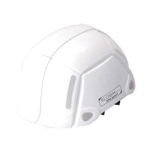 トーヨーセフティー 防災用折りたたみヘルメット NO.100ホワイト 1個|nijiiromarket