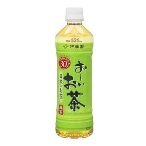〔まとめ買い〕伊藤園 おーいお茶 緑茶 ペットボトル 525ml×24本(1ケース)|nijiiromarket