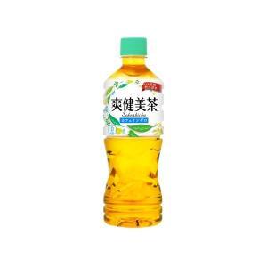 〔まとめ買い〕コカ・コーラ 爽健美茶 すっきりブレンド ペットボトル 525ml×24本(1ケース)|nijiiromarket