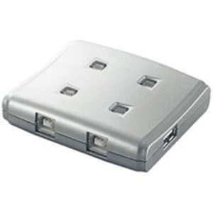 エレコム(ELECOM) USB切替器4切替 USS2-W4|nijiiromarket
