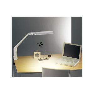 ツインバード工業 LEDクランプ式デスクライト (ホワイト) LE-H635W|nijiiromarket