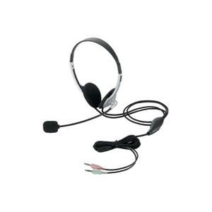 (業務用5セット)エレコム ELECOM ヘッドセット両耳オーバーヘッド HS-HP22SV|nijiiromarket