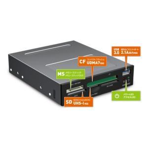 ミヨシ USB3.0対応 内蔵型カードリーダ・ライタ USR-DOS3|nijiiromarket