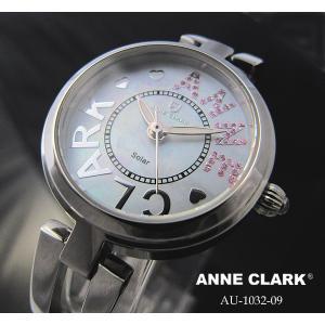 アンクラーク レディース ソーラー腕時計 AU1032−09|nijiiromarket