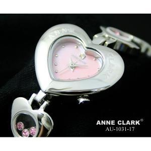 アンクラーク レディース ハート型腕時計 AU1031−17|nijiiromarket