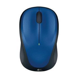 (まとめ) ロジクール Wireless Mouse ブルー M235RBL 1個 〔×2セット〕|nijiiromarket