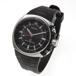 マキシオ激振(黒)〔腕時計〕 nijiiromarket