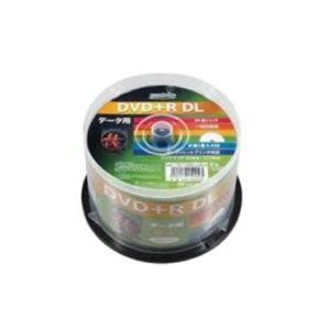 HIDISC DVD+R DLデ‐タ用メディア レーベル ワイドタイプ プリンタブル白50枚スピンドル HDD+R85HP50 〔6個セット〕|nijiiromarket