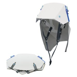 防災ズキン付き折りたたみ式ヘルメット タタメットズキン3|nijiiromarket