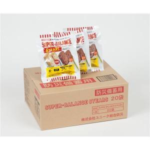 防災備蓄用食品 スーパーバランス 6YEARS (1箱20袋入)|nijiiromarket