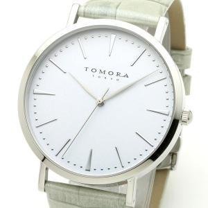TOMORA TOKYO(トモラトウキョウ) 腕時計 日本製 T-1601-SWHGY|nijiiromarket