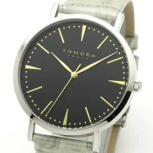 TOMORA TOKYO(トモラトウキョウ) 腕時計 日本製 T-1601-GBKGY|nijiiromarket