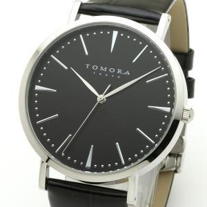 TOMORA TOKYO(トモラトウキョウ) 腕時計 日本製 T-1601-SBKBK|nijiiromarket