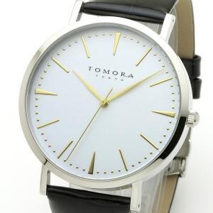 TOMORA TOKYO(トモラトウキョウ) 腕時計 日本製 T-1601-GWHBK|nijiiromarket