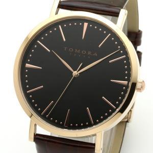 TOMORA TOKYO(トモラトウキョウ) 腕時計 日本製 T-1601-PBKBR|nijiiromarket