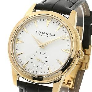 TOMORA TOKYO(トモラトウキョウ) 腕時計 日本製 T-1602-GDWH|nijiiromarket