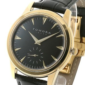 TOMORA TOKYO(トモラトウキョウ) 腕時計 日本製 T-1602-GDBK|nijiiromarket