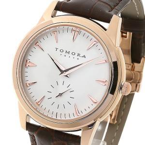 TOMORA TOKYO(トモラトウキョウ) 腕時計 日本製 T-1602-PGWH|nijiiromarket