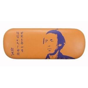 坂本龍馬メガネケース オレンジ〔2個セット〕|nijiiromarket