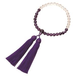 紫水晶御念珠(グラデーションタイプ)|nijiiromarket