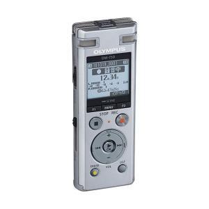 オリンパス ICレコーダーVoice-Trek 4GB シルバー DM-750 SLV 1台|nijiiromarket