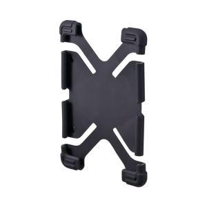 (まとめ)サンワサプライ 耐衝撃シリコンケース PDA-TABH4BK〔×30セット〕|nijiiromarket