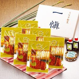 〔愛知県産うなぎ使用〕うなぎ割烹「一愼」特製うなぎカット蒲焼 約60g×6枚(たれ、山椒セット) nijiiromarket