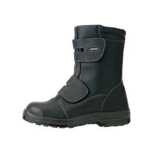 ワンタッチ先芯強度耐滑静電ブーツ 25.5cm nijiiromarket