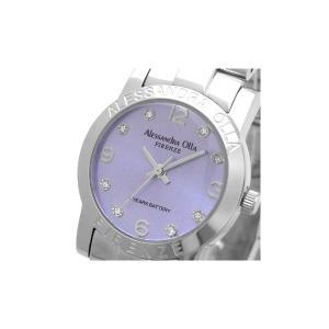 Alessandra Olla(アレサンドラオーラ)腕時計 ラウンドフェイス レディースウォッチ AO-714 パープル|nijiiromarket